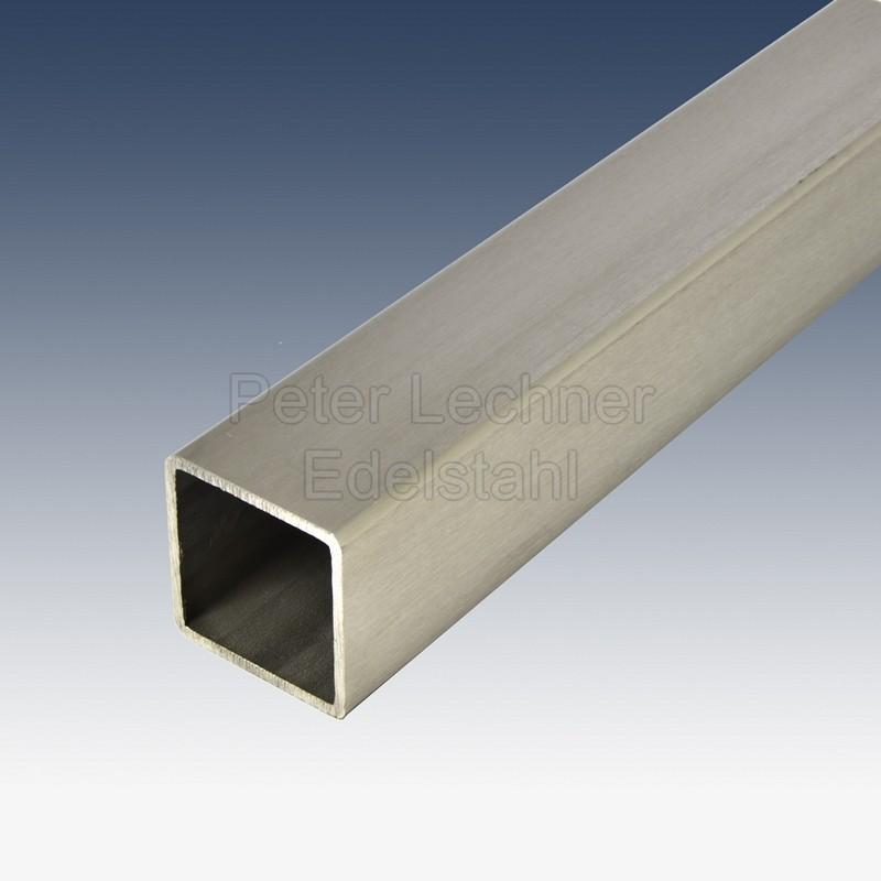 80x80x3 mm 4301 edelstahl quadratrohr geschliffen mein for Sideboard 80 x 80